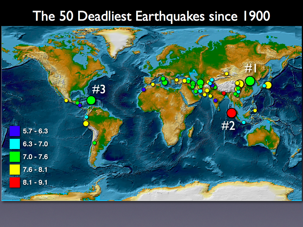 The Deadliest Earthquakes | Rick Allmendinger's Stuff